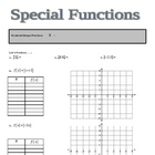 Special Functions Introductory Notes