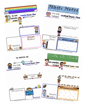 Specials Classes Fillable Newsletters
