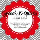 Speech-A-Gories: A Card Game for Speech and Language Therapy