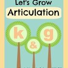 Speech Activities for Articulation: /k/ and /g/
