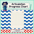 Speech Articulation Progress Chart for Elementary Students