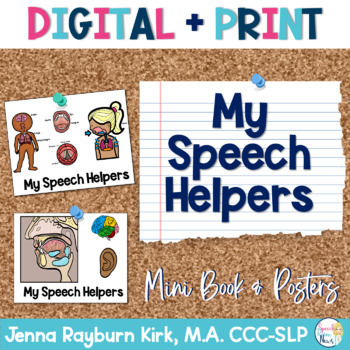 Speech Helpers Mini Book & Posters