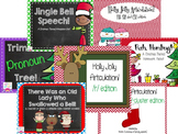 Speech & Language Mega Christmas Bundle!