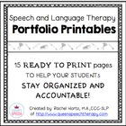 Speech-Language Therapy Portfolio