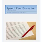 Speech Peer Evaluation
