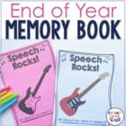 Speech Rocks!  A Memory Book for Speech Therapy