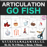 "Speech Therapy: Articulation ""Go Fish"" Decks Bundle ALL SOUNDS"