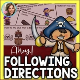 Ahoy! Following Directions with Embedded Concepts