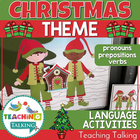 Speech Therapy: Pronouns, Verbs & Prepositions for Christmas