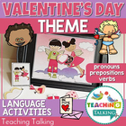 Speech Therapy: Pronouns, Verbs & Prepositions for Valenti