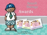 Speech Therapy Student Awards for the Month, Quarter, Term