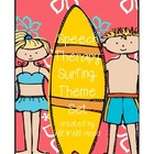 Speech Therapy Surfing Theme Set
