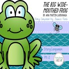 Speech Therapy: The Big Wide-Mouthed Frog Story Companion Pack