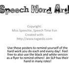 Speech Word Art!