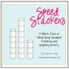 Speed Stackers: A Winter Graphing Game