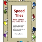 Speed Tiles (Math that uses number tiles 0-9)