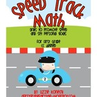 Speed Track Math- Fluency Drills for First Grade Math