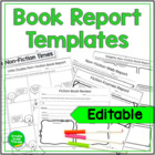 Speedy Book Report Templates