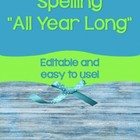 """Spelling All Year Long"""