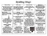 Spelling Bingo: Multiple Activities for Spelling Words