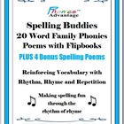 Spelling Buddies 20 Printable Word Family Phonics Poems wi