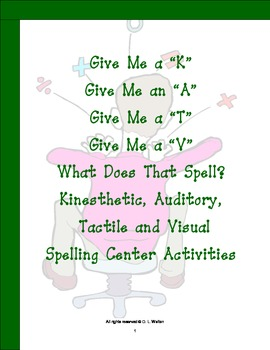 Spelling Center Activities: K-6