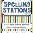 Spelling Center Printables Packet #2