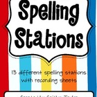 Spelling Center Printables Packet
