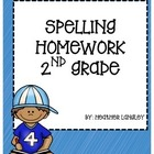 Spelling Homework Unit 1-9