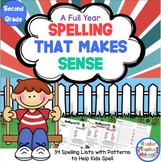 Spelling Lists That Make Sense-Second Grade