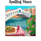 Spelling Menu from Leach's Literacy Training