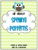 Spelling Pattern Game &amp; Practice Sheets