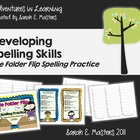 Spelling Practice - File Folder Flip - Spelling/Word Work