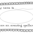 Spelling Practise Booklet (Australian/British version)