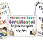 Spelling Resource Bundle-First Grade