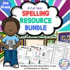 Spelling Resource Bundle-Second Grade