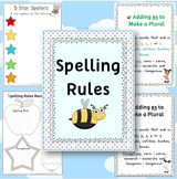 Spelling Rules Posters - 47 pages