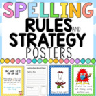 Spelling Rules and Spelling Strategies COMBO Bundle Polka
