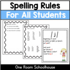 Spelling Rules for all Students