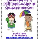 Spelling Sort: Diphthongs ou and ow