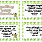 Spelling Task Cards - Writing Tasks