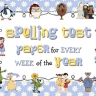 Spelling Test Pack - 20 Words Format