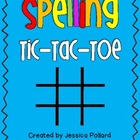 Spelling Tic-Tac-Toe {Freebie}