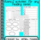 Spelling Vocabulary and Fluency Activities for Any Reading Series