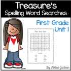 Spelling Word Searches Unit 1 Macmillan/McGraw-Hill Treasu