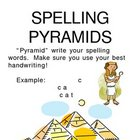 Spelling centers - activity cards