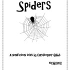 Spiders A Nonfiction Text