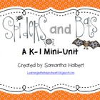 Spiders and Bats Mini-Unit