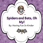 Spiders and Bats, Oh My! - A Literacy and Science Unit
