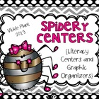 Spidery Centers {Literacy Centers and Graphic Organizers}
